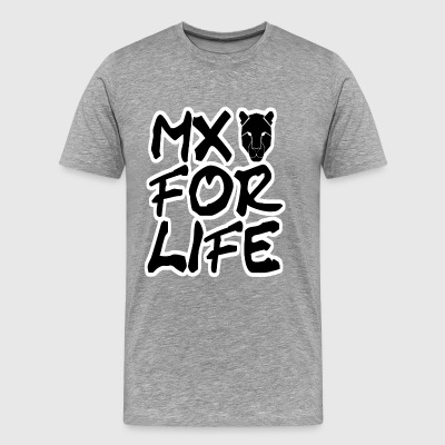 MX For Life Motocross T-Shirt Pullover Top Design - Männer Premium T-Shirt