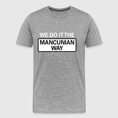The Mancunian Way - Men's Premium T-Shirt