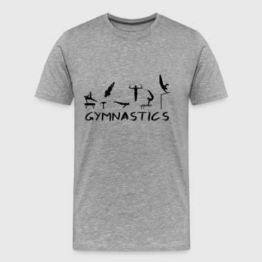 Men's Gymnastics - Men's Premium T-Shirt