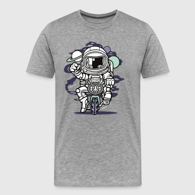 Space Bike - Männer Premium T-Shirt