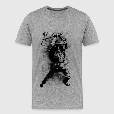 Viking Warrior - Herre premium T-shirt