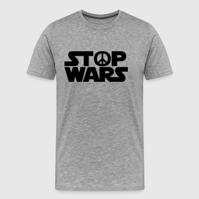 Stop Wars - Men's Premium T-Shirt