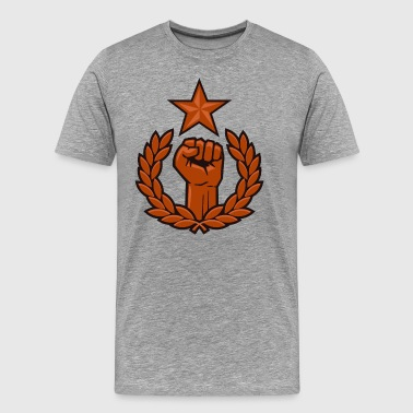 Main Revolutionnaire Communisme - T-shirt Premium Homme