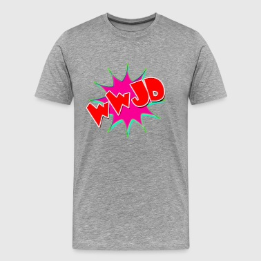 What would Jesus do - Men's Premium T-Shirt