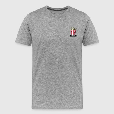 POP CORN - Men's Premium T-Shirt