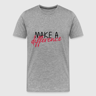 make- - Premium-T-shirt herr