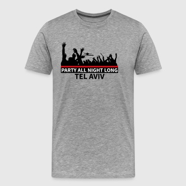 TEL AVIV Party - Männer Premium T-Shirt