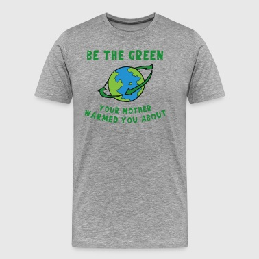 Earth Day Go Green - Men's Premium T-Shirt