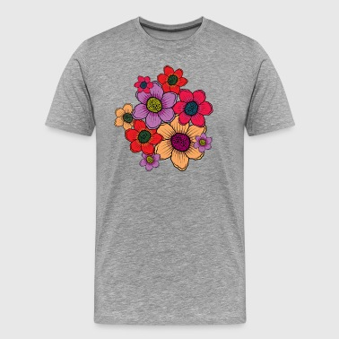 Bundle of flowers - Men's Premium T-Shirt