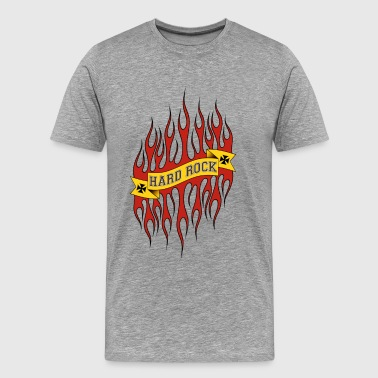 red flames - T-shirt Premium Homme