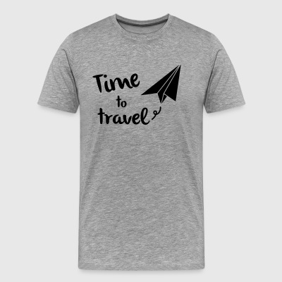 Time to travel - Camiseta premium hombre