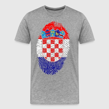 KROATIË 4 EVER COLLECTION - Mannen Premium T-shirt