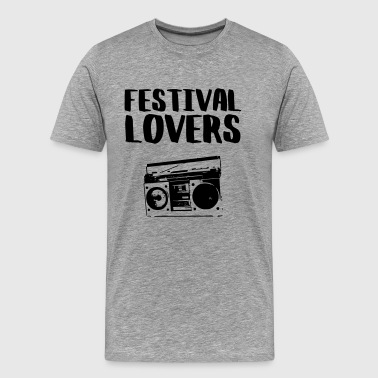 Festival lovers - Men's Premium T-Shirt