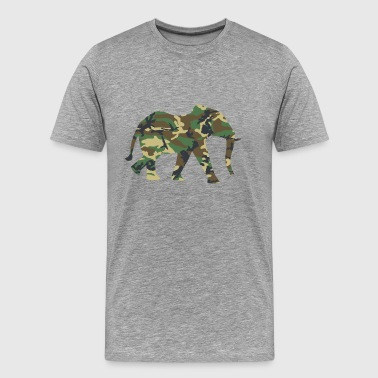 ELEPHANT - Premium T-skjorte for menn