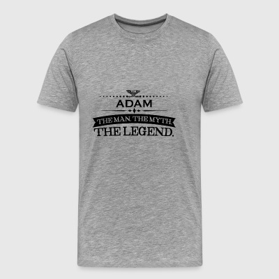 Man mythe legende gift Adam - Mannen Premium T-shirt