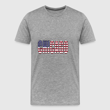 CHICAGO USA - Men's Premium T-Shirt