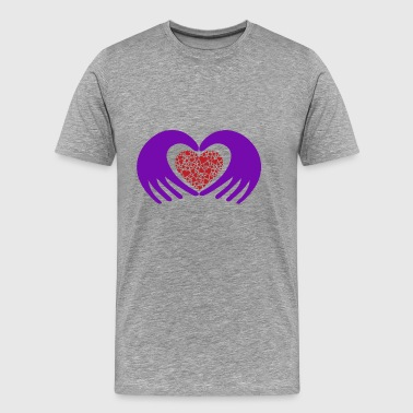 heart hands - T-shirt Premium Homme