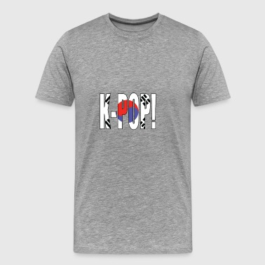 K-POP SOUTH KOREA - Premium-T-shirt herr