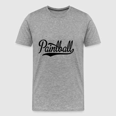 2541614 15440067 paintball - Premium-T-shirt herr