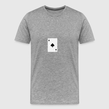 poker card - Premium-T-shirt herr