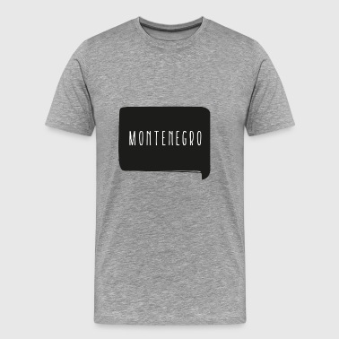 Your Country Montenegro T-Shirt - Men's Premium T-Shirt