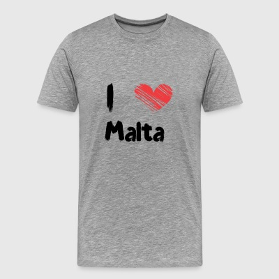 I love Malta - Men's Premium T-Shirt