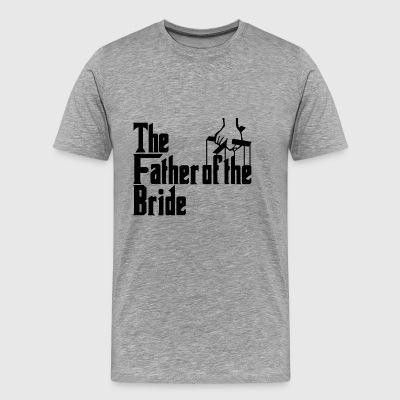 Fadern till Bride Stag Party.Gifts for party - Premium-T-shirt herr