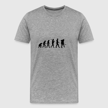 Hockey Evolution Gift - Premium-T-shirt herr