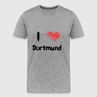 I love Dortmund - Men's Premium T-Shirt