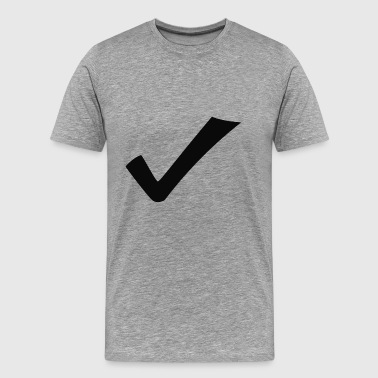 checkmark - Men's Premium T-Shirt