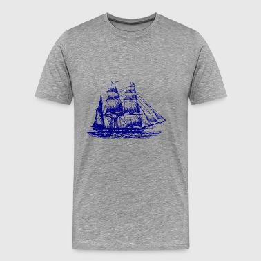 ship - Premium-T-shirt herr