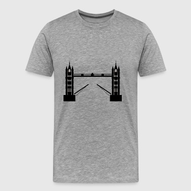 London Bridge - Premium-T-shirt herr