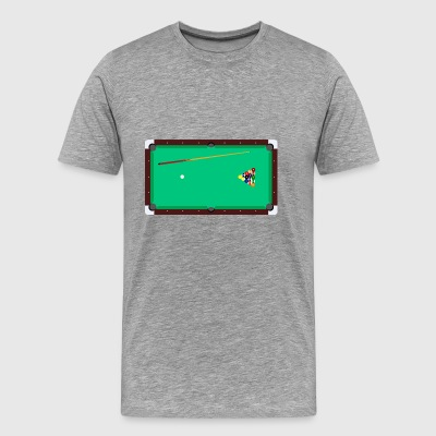 Billiard table - Men's Premium T-Shirt