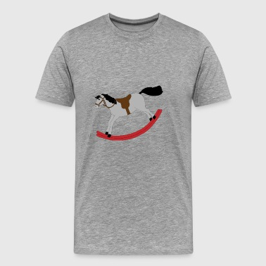 rocking horse - Men's Premium T-Shirt