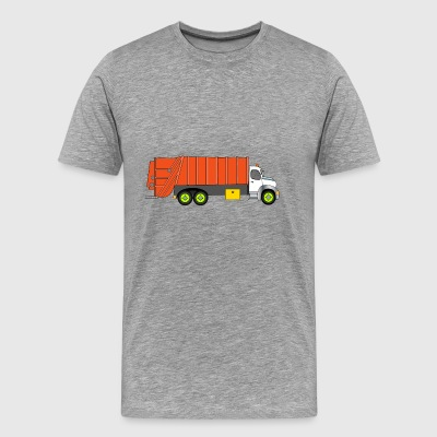 garbage collection - Herre premium T-shirt