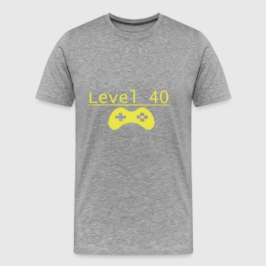 Level 40 - Men's Premium T-Shirt