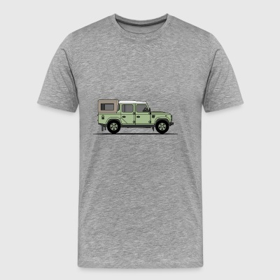 Defender 110 Pick Up - Men's Premium T-Shirt