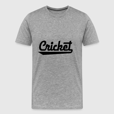 2541614 15436157 cricket - T-shirt Premium Homme