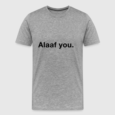 alaaf you - Men's Premium T-Shirt