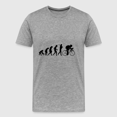 Triathlete gift Triathlon Road fiets - Mannen Premium T-shirt