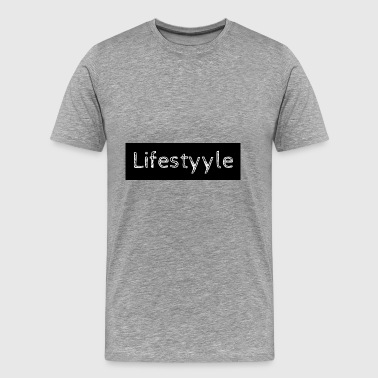 Lifestyyle black - Men's Premium T-Shirt