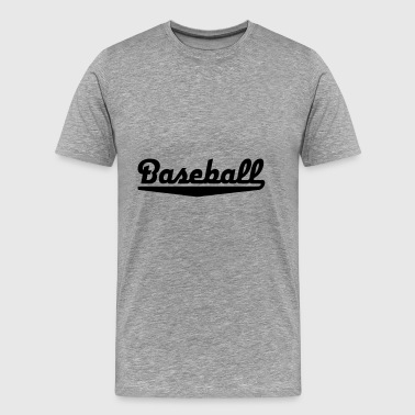 2541614 15112614 baseball - Men's Premium T-Shirt