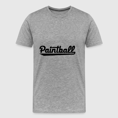 2541614 15429580 paintball - T-shirt Premium Homme