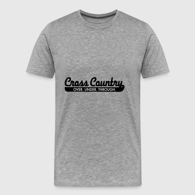 2541614 15376355 cross country - Männer Premium T-Shirt