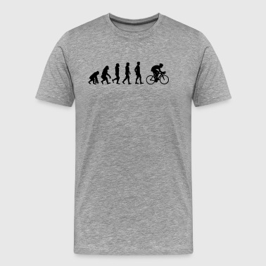 Evolution bike - Men's Premium T-Shirt
