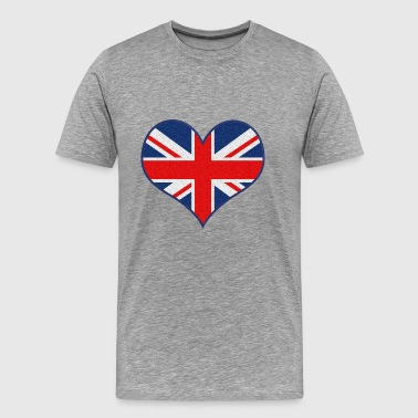 I LOVE UK - Men's Premium T-Shirt