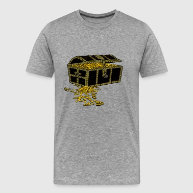 gold chest - Men's Premium T-Shirt