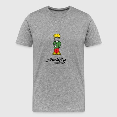 spliffy2 - Premium-T-shirt herr