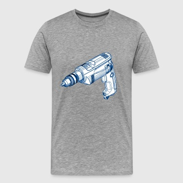 drilling machine - Men's Premium T-Shirt