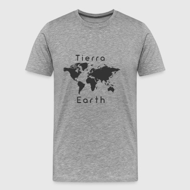 Earth-Earth - Premium T-skjorte for menn